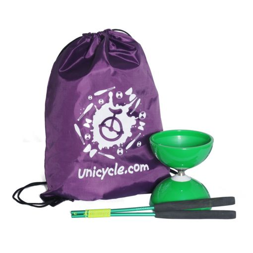 Juggle Dream Big Top Bearing Diabolo - Green