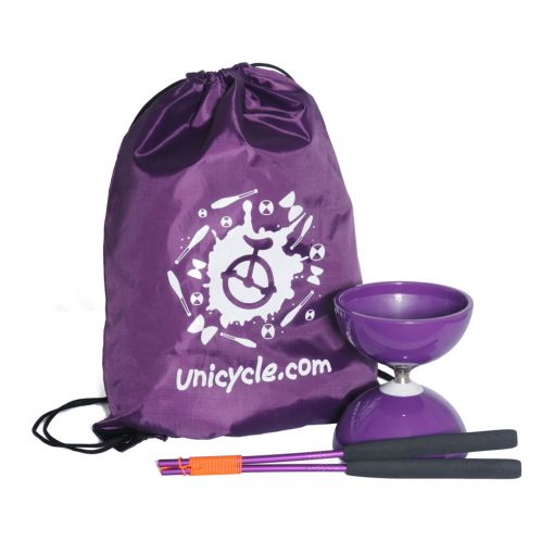 Juggle Dream Big Top Bearing Diabolo - Purple