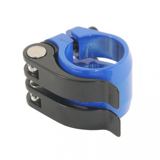 Nimbus 'DoubleQuick' Seatpost Clamp - Blue (31.8mm)