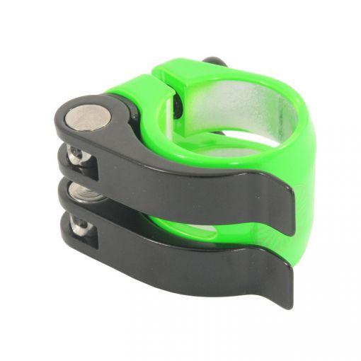 Nimbus 'DoubleQuick' Seatpost Clamp - Green (31.8mm)