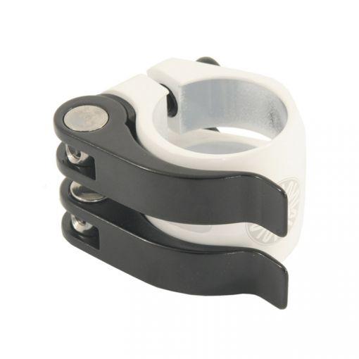 Nimbus 'DoubleQuick' Seatpost Clamp - White (31.8mm)