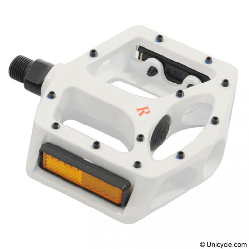 Metal DX Pedals - White