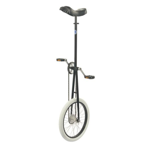 5' Club 'SingleChain' Giraffe Unicycle - Black