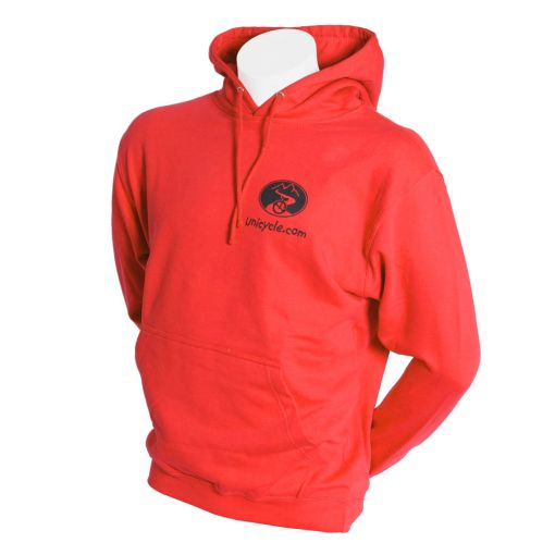 Unicycle.com Hoodie - Red