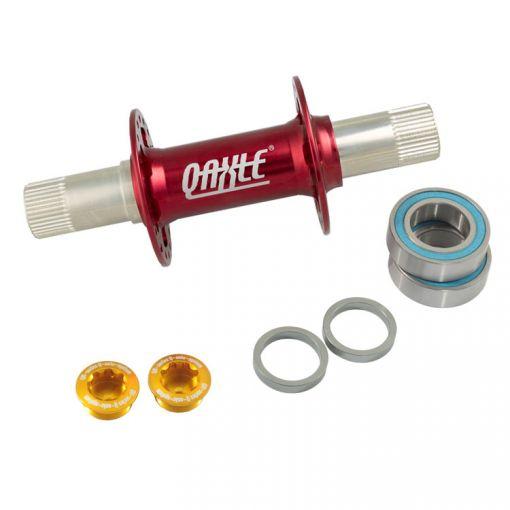 Qu-Ax Q-Axle Hub, 36 Hole - Red