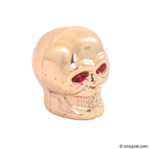 Skull Valve cap - Gold