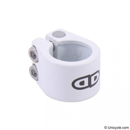 Impact '2 Bolt' Seat Clamp - White, Option:27.2mm