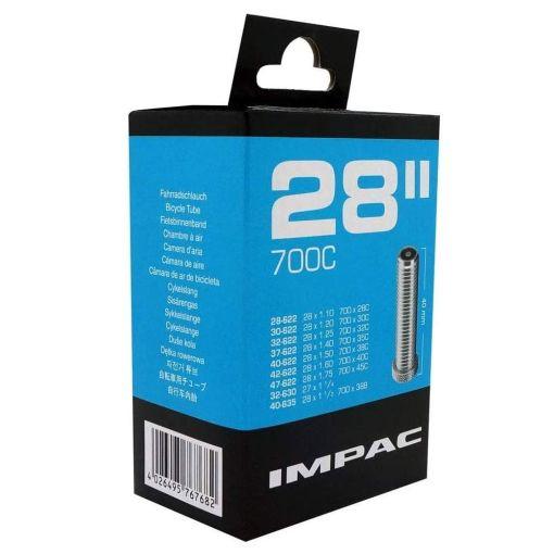 """Inner Tube 28"""" x 1.75 Scrader - Impac"""