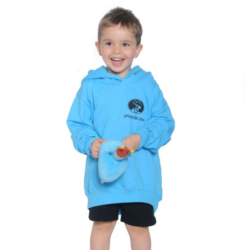 Kids Unicycle.com Hoodie - Blue