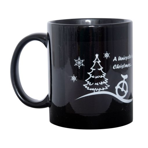 Christmas Unicycle.com Mug