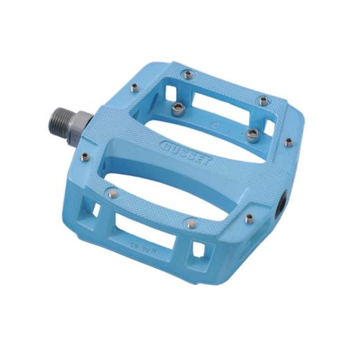 Slim Jim Aluminium Pedals - Light Blue