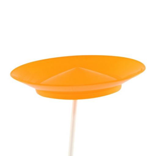 Juggle Dream Spinning Plate - Orange (with stick)