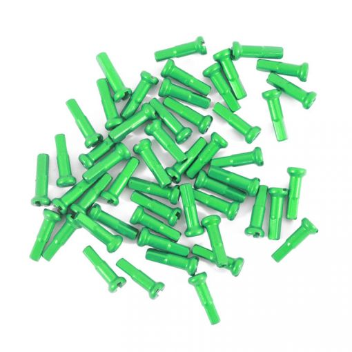 Primo Spoke Nipples 14G - 16mm, Green
