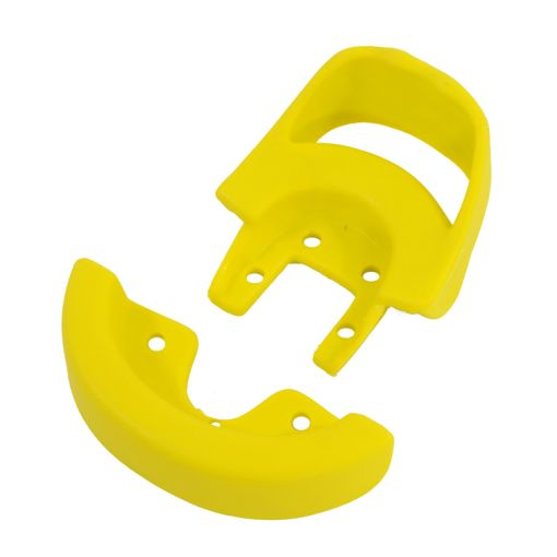 Front Handle & Rear Bumper for Qu-Ax Saddles - Yellow