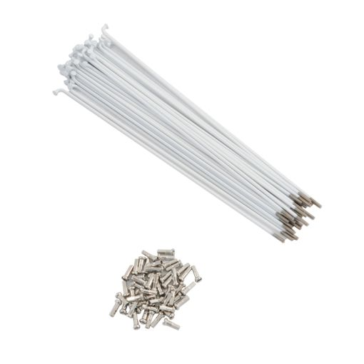 Spokes - 170mm, 14Guage, White