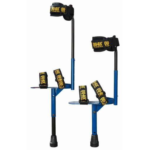 Qu-Ax Walking Stilts - Blue