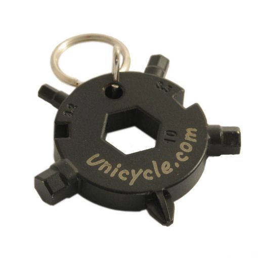 Unicycle.com Multi Tool Keyring