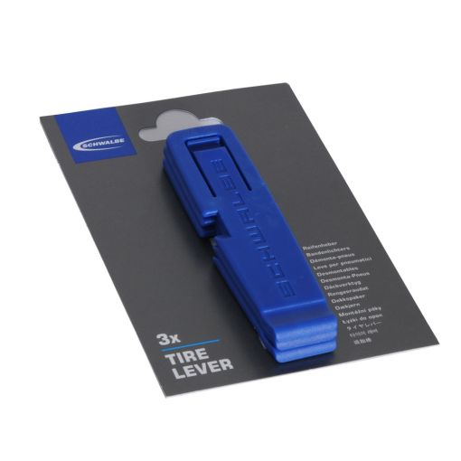 Schwalbe Plastic Tyre Lever - Blue (set of three)