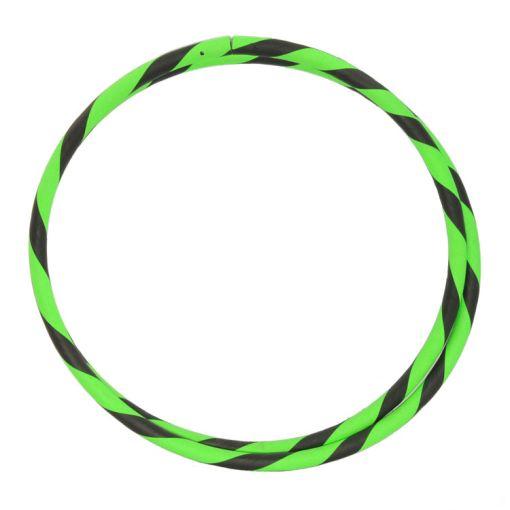 "Travel Hula Hoop 39"" in Black and Green"
