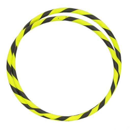 """Travel Hula Hoop 39"""" in Black and Yellow"""
