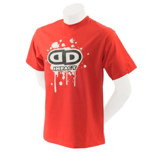 Impact Unicycles T-shirt - Red (XLarge)
