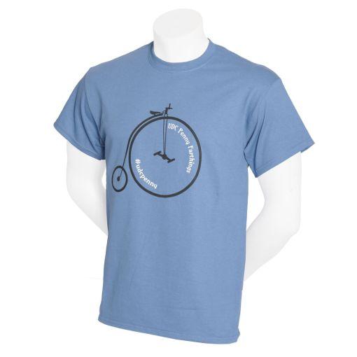 UDC Penny Farthing T-shirt - Blue