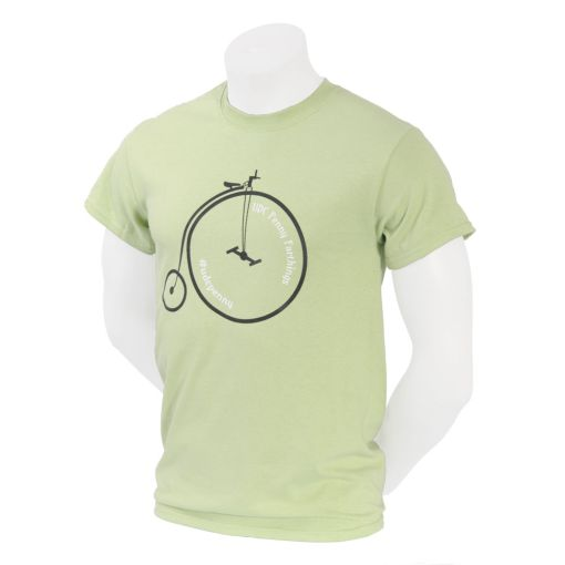 Unicycle.com Penny Farthing T-shirt - Pistachio
