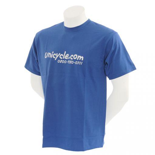 Unicycle.com T-shirt - Blue (7-8yrs)