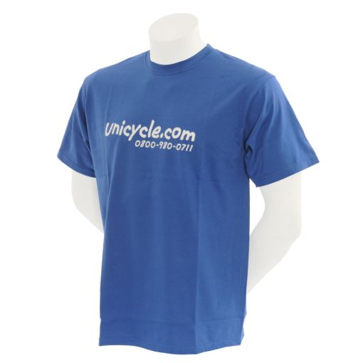 Unicycle.com T-Shirt - Blue