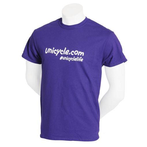 Unicycle.com T-shirt - Purple