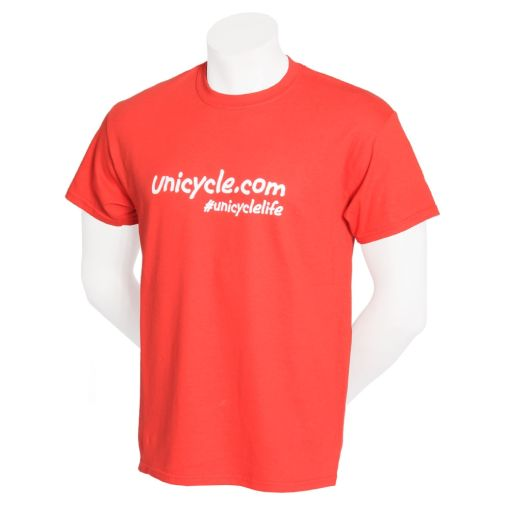 Unicycle.com T-shirt - Red