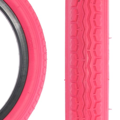 "Qu-Ax Freestyle Tyre 16"" x  1.75"" - Pink"