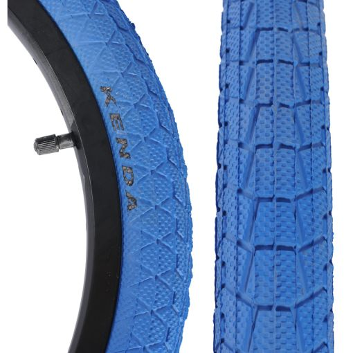 "Kenda Krackpot 20"" x 1.95"" Tyre - Blue"