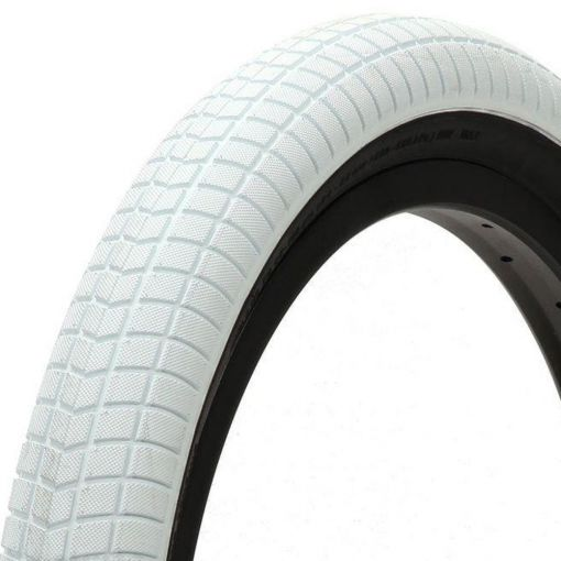 "Primo V-Monster 20"" x 2.40"" Tyre - White With Black Sidewall"
