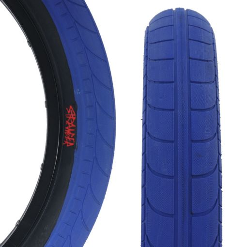"Stranger Ballast 20"" x 2.45"" Tyre - Blue With Black Sidewall"
