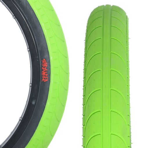 "Stranger Ballast 20"" x 2.45"" Tyre - Green With Black Sidewall"