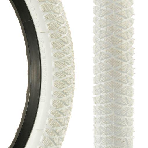 """Duro X-Performer 20"""" x 1.95"""" Tyre - White"""