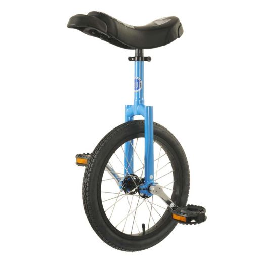 "16"" Club Freestyle Unicycle - Blue with Black Tyre"