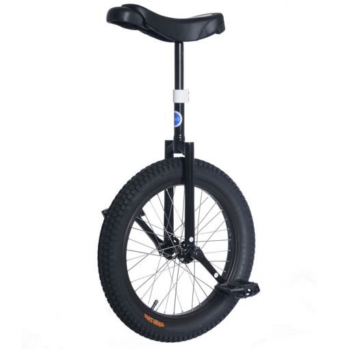"19"" Club Beginner Trials Unicycle - Black"