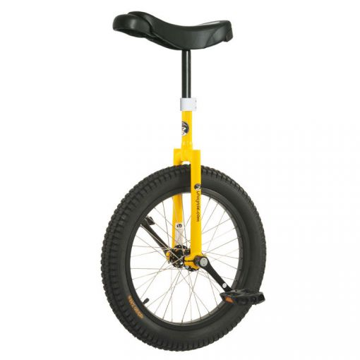 "19"" Club Beginner Trials Unicycle - Yellow"