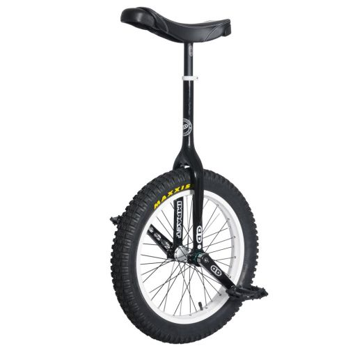 "19"" Impact Gravity Trials Unicycle - Black (42mm)"