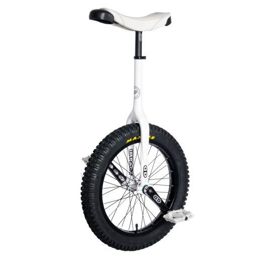 "19"" Impact Gravity Trials Unicycle - White (42mm)"