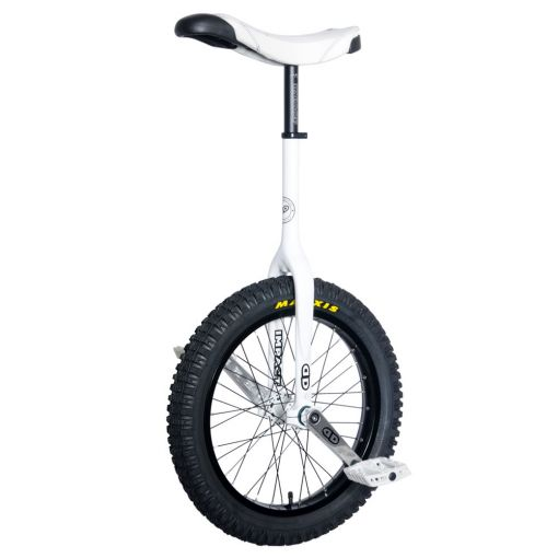 """19"""" Impact Gravity Trials Unicycle - White (42mm)"""