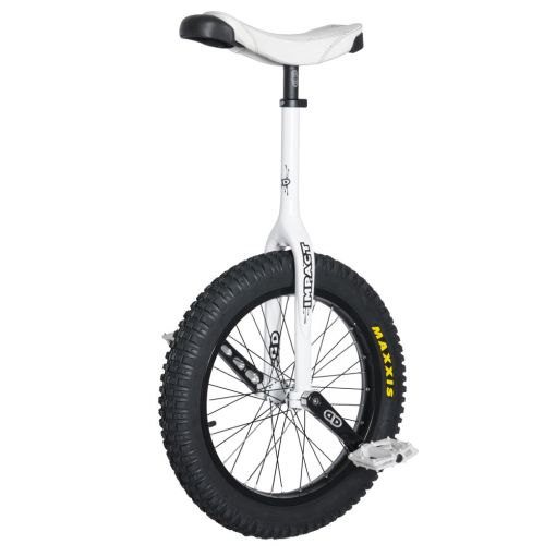 "19"" Impact Gravity Pro Trials Unicycle - White (32mm)"