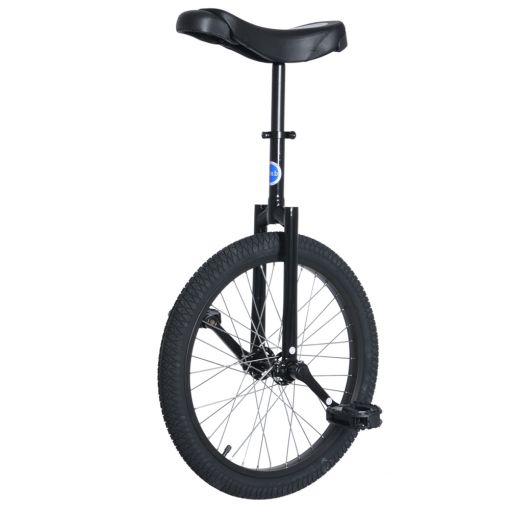 "20"" Club Freestyle Unicycle - Black with Black Tyre"