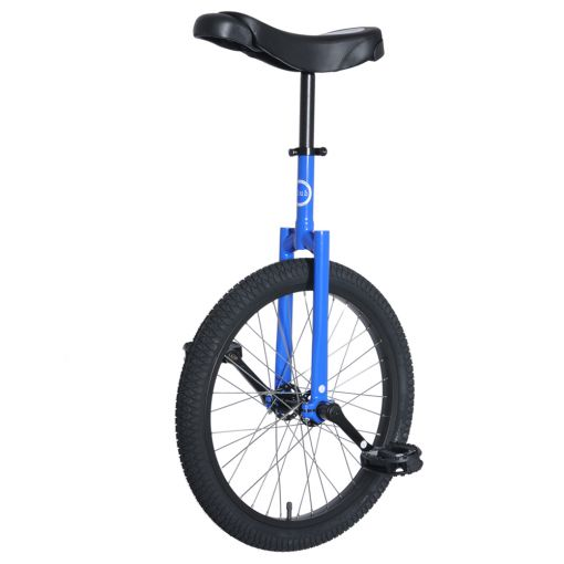 "20"" Club Freestyle Unicycle - Blue with Black Tyre"