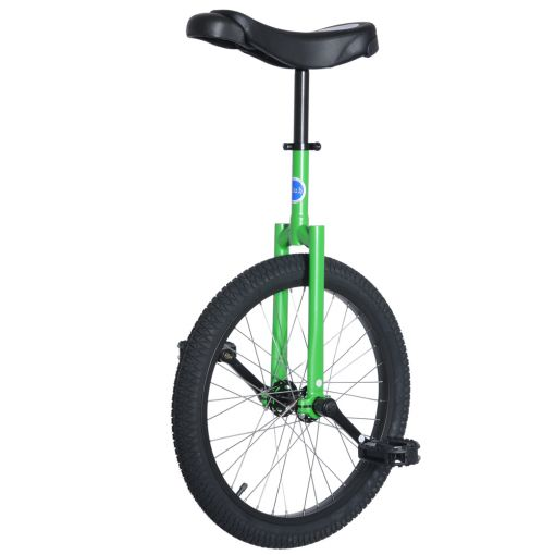 "20"" Club Freestyle Unicycle - Green with Black Tyre"