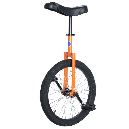 "20"" Club Freestyle Unicycle - Orange with Black Tyre"