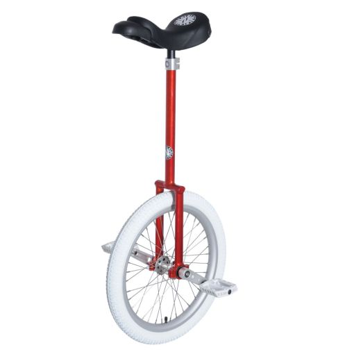 """20"""" Nimbus 'Eclipse' Unicycle - 400mm (Red)"""