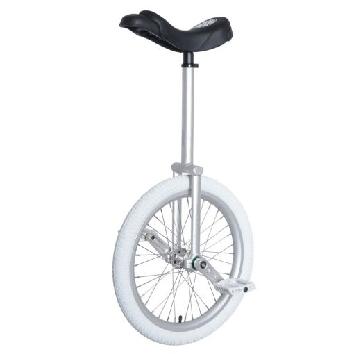 "20"" Nimbus Eclipse-Pro Unicycle 300mm - Silver"